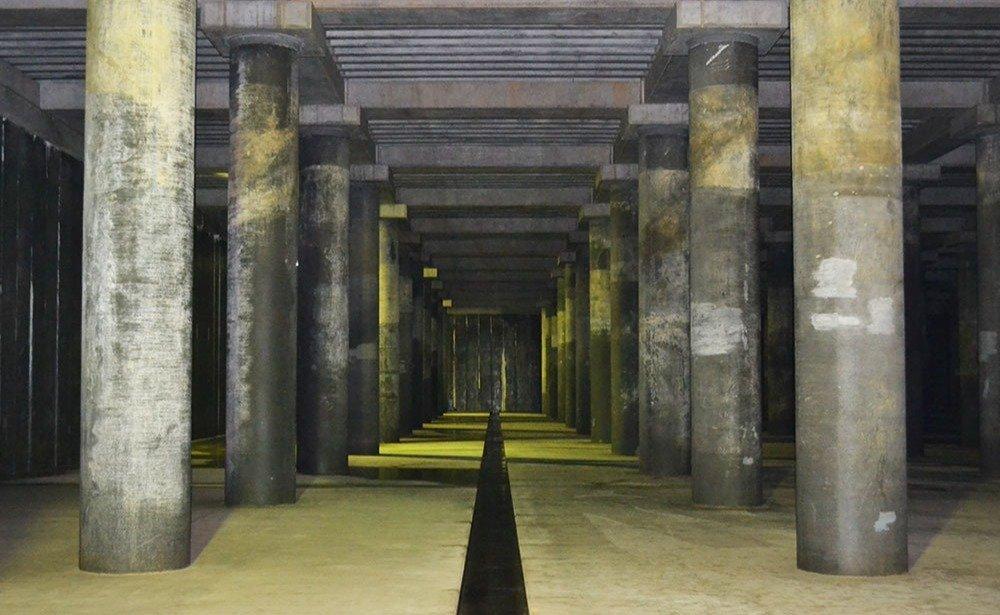 水害から博多の街を守る「地下神殿」 山王雨水調整池に潜入した | 記事 ...